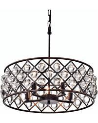 lattice drum chandelier with square drum shade chandelier