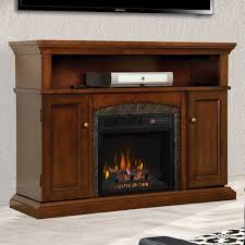 lynwood infrared electric fireplace media cabinet in vintage cherry 18mm4105 c233