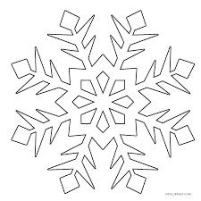 Snowflake Mandala Coloring Page Snowflake Mandala Coloring Pages S S