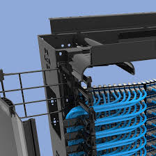 ortronics network infrastructure solutions legrand mighty mo 6 enhanced cable management rack