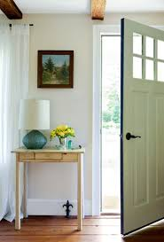 The other small entryway ideas which could be applied for this small area  are hanging beautiful wall painting on the wall of the entryway.
