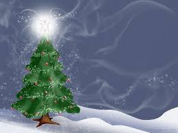 Christmas desktop, Christmas tree wallpaper