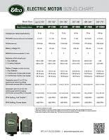 Electric Motor Frame Chart Ac Motor Kit Picture Ac Motor Frame Size Chart