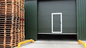 Decorating wicket door images : Sectional Door with Pass Door - YouTube