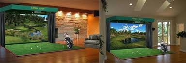 best home golf simulator. Best Home Golf Simulator Hi End Simulators Without The Price E