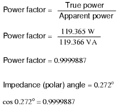 Power Factor Correction Calculation Chart Calculating Power Factor Power Factor Electronics Textbook