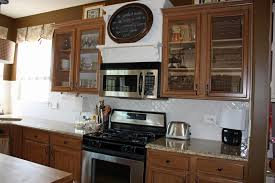Kitchen Wall Cabinet With Glass Doors How To Put Glass In Kitchen ...