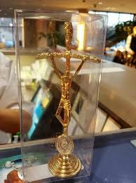 knights of columbus museum st pope john paul ii crucifix from the gift