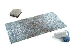 brown bath rugs abyss bird modern pattern bath rugs in blue grey brown pd abyss bird
