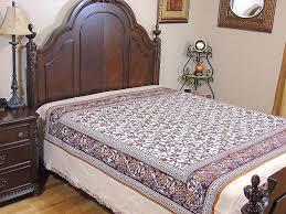 ethnic decor cotton duvet india inspired bedding fl paisley reversible style
