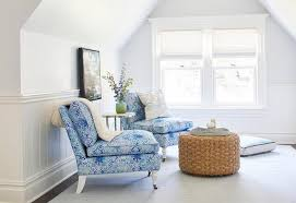living spaces bedroom furniture. Attic Bedroom Living Space With Blue Slipper Chairs Spaces Furniture H