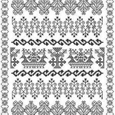 Free Blackwork Embroidery Charts Learn About Blackwork Embroider And Find Stitchers Resources