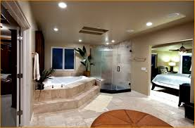master bedroom with open bathroom. Open Bathroom Concept For Custom Master Bedroom With Galzi D