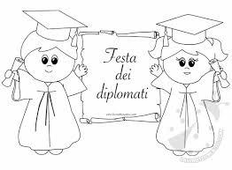Fine Anno Scolastico Scuola Infanzia Cartello Festa Dei Diplomati