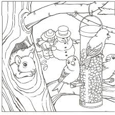 Small Picture Kids Coloring snow coloring sheets Snowman Coloring Pages For