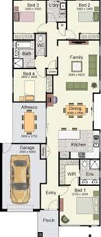 narrow block home designs for goodly narrow block house plans south australia house property