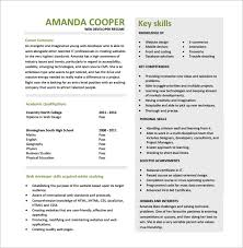 Resume Free Template 11+ Web Developer Resume Templates - DOC, PDF | Free & Premium Templates