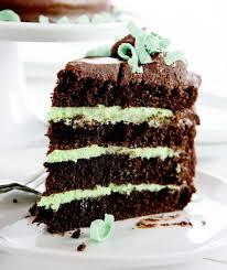 Mint Chocolate Cake I Am Baker