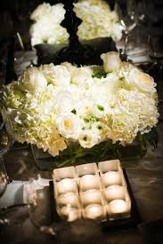 ... Charming Wedding Table Decoration With Various White Flower Wedding  Table Centerpiece Ideas : Exciting Image Of ...