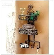 wrought iron wall shelves household goods receive sanitary toilet wall hanging shelf wrought iron bathroom bathroom wrought iron wall shelves