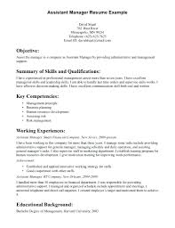 Assistant Sales Manager Resume Kinalico