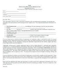 Internal Promotion Offer Letter Template Indemo Co