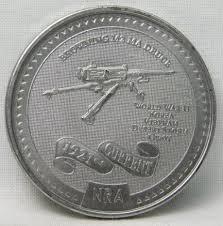 NRA Browning M2 MA Deuce Medal   Property Room