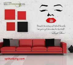wall decals marilyn monroe elegant marilyn monroe give a girl shoes marilyn monroe wall decor