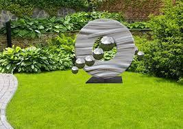 large garden sculpture energy the