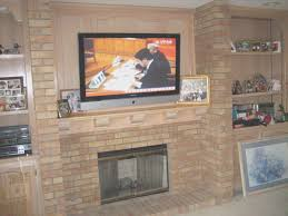 fireplace how to attach a mantel to a brick fireplace design decorating beautiful on interior
