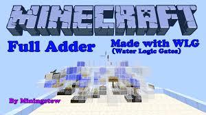 Component Half Adder Logic Gate Gates How To Make Bit Or Minecraft