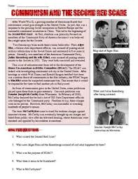 best ideas about red scare essay the red scares of the 1920s and 1950s essays and papers