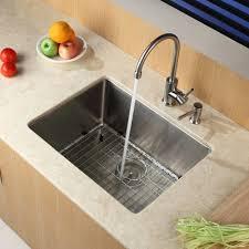 Undermount Kitchen Sinks Granite Kraus 23 X 18 Undermount Kitchen Sink Reviews Wayfair