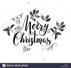 Victorian Christmas Card Black And White Stock Photos Images Alamy