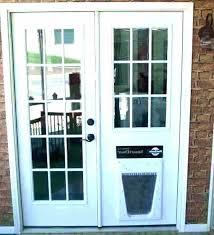 menards dog door exterior doors dog door exterior door with pet door freedom aluminum patio