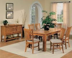 dining room set light oak. light oak finish casual dining room table w/optional chairs set