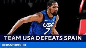 Team USA Basketball Defeats Spain to ...