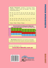 Phonics Worksheets - Burrabooks - Australian Educational Books