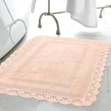cotton bath rugs crochet cotton bath rug cotton bath rugs without latex backing
