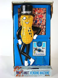 Mr Peanut Vending Machine Stunning Vintage Unused Mr Peanut Vending Machine Mint In Box 48