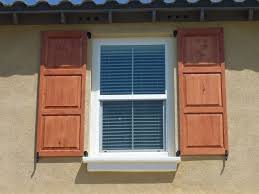 Full Size of Accessories:great Rustic Building Exterior Window Shutters In  Brown And White Models ...