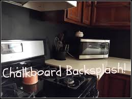 Kitchen Backsplash Diy Diy Chalkboard Kitchen Backsplash Youtube