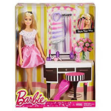 barbie doll. Barbie Doll And Playset