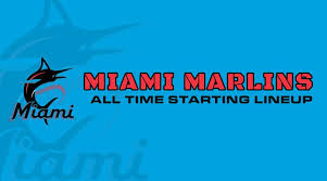 Miami Marlins Depth Chart Miami Marlins All Time Starting Lineup Roster