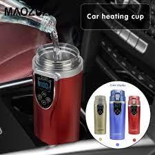 350ml araba isıtma kupası 12V/24V SU ISITICI su ısıtıcısı kahve çay kaynar  ısıtmalı kupa araç SU ISITICI üreticisi seyahat su ısıtıcısı araba|thermos  thermos|thermo electricthermos 350ml - AliExpress