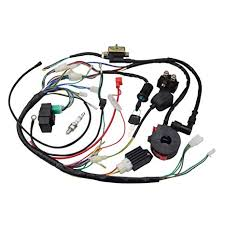 125cc atv wiring wiring diagram expert amazon com goofit ignition rebuild kit wiring harness for 50cc 90cc loncin 125cc atv wiring diagram 125cc atv wiring