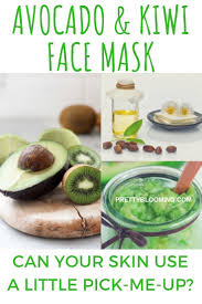 anti aging avocado and kiwi face mask pick me up and collagen booster