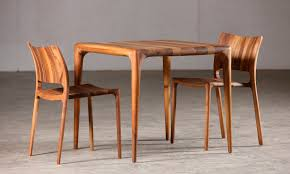 contemporary wood chairs. Contemporary Chair / Stackable Oak Walnut - LATUS By Salih Teskeredžić Wood Chairs R