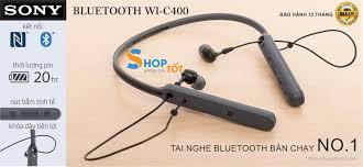 Tai nghe bluetooth sony in ear không dây wi-c400 - hãng phân phối chính  thức - Sắp