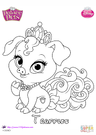 Small Picture Truffles Princess coloring page Free Printable Coloring Pages